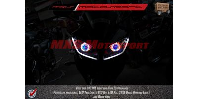 MXSHL144 Yamaha R15 Headlights Bi Xenon projector, HID & Day running light