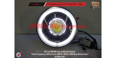 MXSHL114 Royal Enfield Bullet Classic 350-500 Headlight Projector-Day Running Light