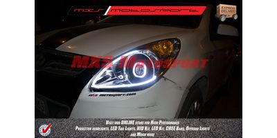 MXSHL178 Projector Headlight Hyundai i20 with audi style DRL