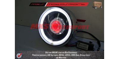 MXSHL118 Royal Enfield Bullet STANDARD 350-500 Headlight Projector-Day Running Light
