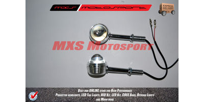 MXS2241 Chopper Turn Signal Indicators 'RED'
