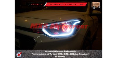 MXSHL179 Projector Headlight With DRL System Hyundai i20 Elite