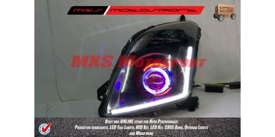 MXSHL175 Shark Eye Projector Headlight With DRL System Maruti Suzuki Swift