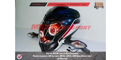 MXSHL143 Bajaj Pulsar 200NS Headlights Bi Xenon projector, HID & Day running light