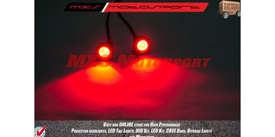 MXS2242 Dual Mode LED Strobe Lights 'Red'