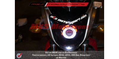 MXSHL147 Robotic Eye projector Headlight Yamaha Fz & Fzs