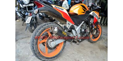 MXS2323 Exhaust Silencer Honda CBR250R