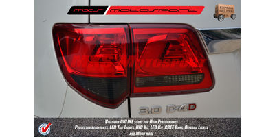 MXSTL02 LED Tail Lights Toyota Fortuner