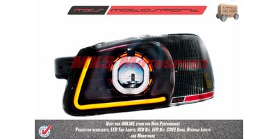 MXSHL73 Robitic Eye Projector Headlight With DRL System Hyundai Accent
