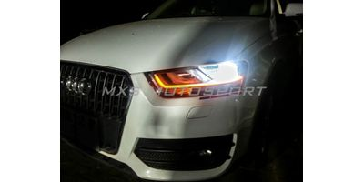 MXS1836 White-Amber DRL Daytime Running Light for AUDI Q3