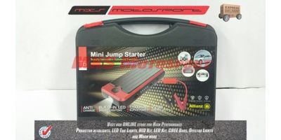 MXS Motosport Mini jump starter for car li-polymer chargeable battery