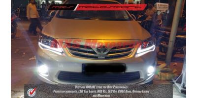 MXSHL82 Toyota Corolla Altis Projector Headlights Day Running Light