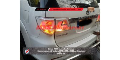 MXSTL11 LED Tail Lights Toyota Fortuner