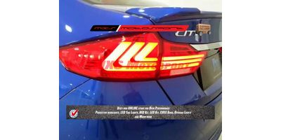MXSTL14 LED Tail Lights for New Honda City i-Dtec Pair