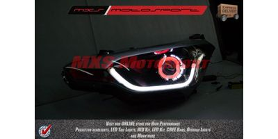 MXSHL40 Robitic Eye Projector Headlight With DRL System Hyundai i20 Elite