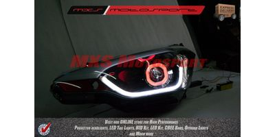 MXSHL40 Robitic Eye Projector Headlight With DRL System Hyundai i20 Elite