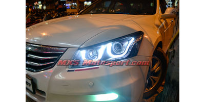 MXSHL09 Honda Accord Type II Projector Headlights Day Running Light