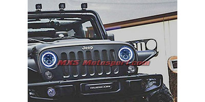 MXSHL39 Tech Hardy Racing Project Bullseye Projector Headlights for Mahindra Thar Jeep
