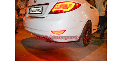 MXSTL78 Rear Bumper Reflector LED Tail Lights Hyundai Verna Fluidic