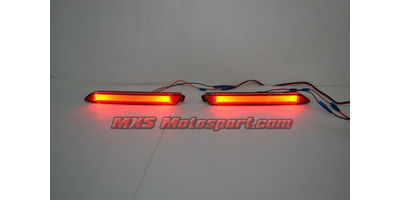 MXSTL87 Rear Bumper Reflector LED Tail Lights Toyota Innova