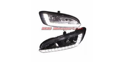 MXS2348 LED Fog Lamps Day Time Running Light Hyundai Santa Fe 2015