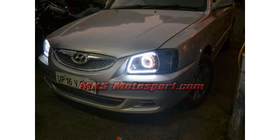 MXSHL384 Projector Headlights Hyundai Accent