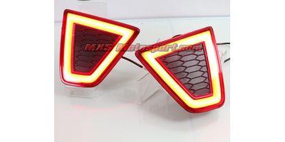 MXSTL46 Rear Bumper Reflector LED Tail Lights Honda jazz