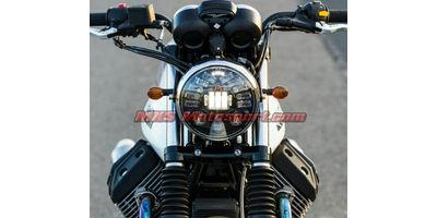 MXSHL404 Tech Hardy Stage  2 Led Adaptive Headlight Cafe Racer Motorcycle