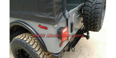MXSTL76 Monster Led Tail Lights Mahindra Thar Jeep Wrangler