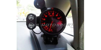 MXS1839  Defi 80MM Tachometer Race Gauge RPM Meter with Shift Light Universal Car