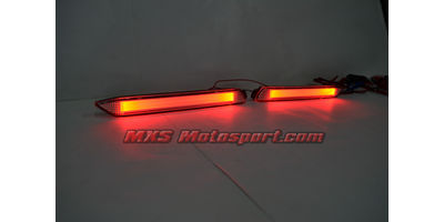 MXSTL82 Rear Bumper Reflector DRL LED Tail Lights Toyota Fortuner 'White'