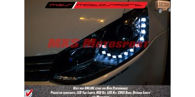 MXS Motosport Projector Headlight Volkswagen Polo Daytime Running light