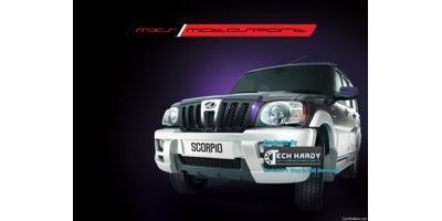 MXS- High end HID kit 35W with true AC Blaster for Mahindra Scorpio