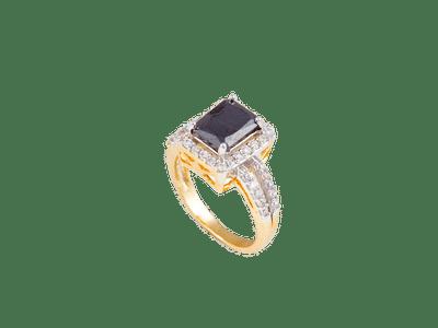 Black Onyx with diamond jacket
