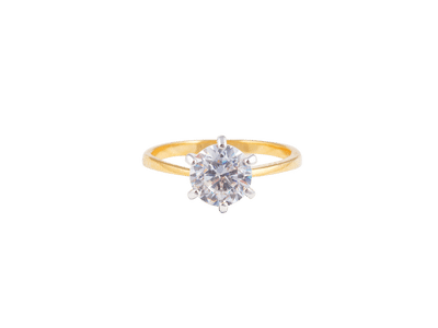 One stone - Solitare Ring