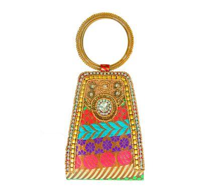Bangle shape hand bag