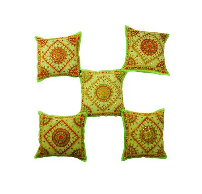 Pakka kanch cushion cover