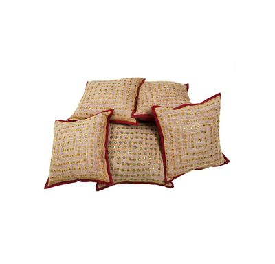 Lace kaanch cushion cover