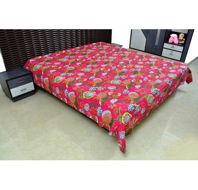 Fruit print Bed cover / Quilt