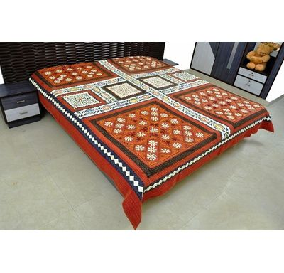Flower patch Bed cover / Quilt