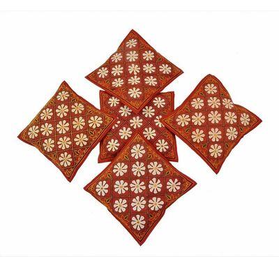 Flower-Mirror cushion cover