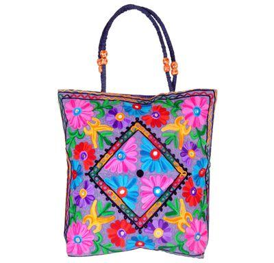 Hand bag kashmiri embroidery