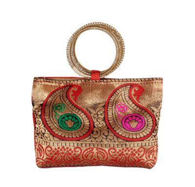 Hand bag bangle handle