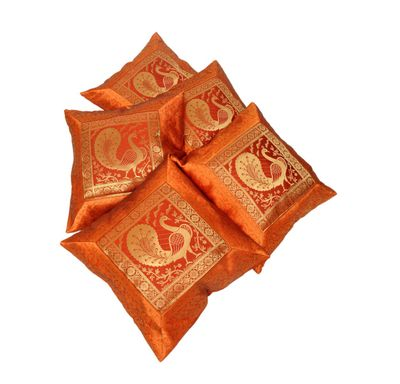 Cushion cover banarasi