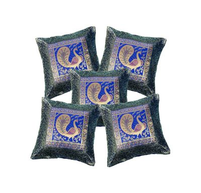 Cushion cover banarasi