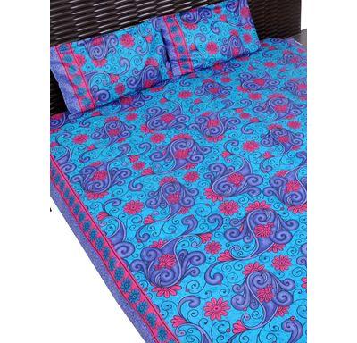 Kery flower print bed sheet