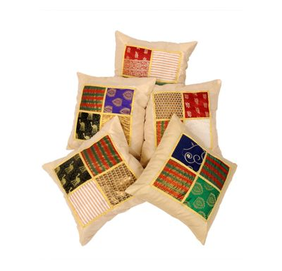 Mix tukdi cushion cover