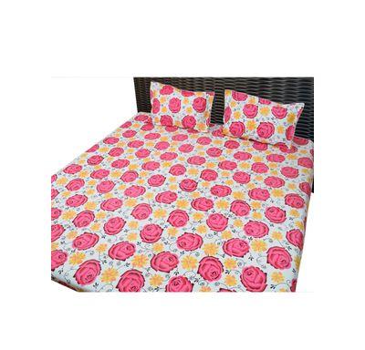 Bed sheet flower