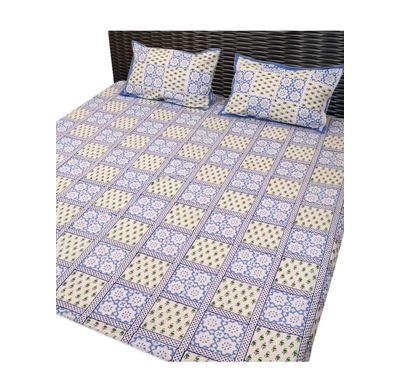Bed sheet hand block