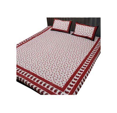 Bed sheet kerry print